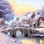 Thomas Kinkade Original Paintings For Sale