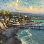 Thomas Kinkade Paintings Capitola Village Painting