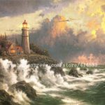 Thomas Kinkade Prints Original Oil Painting Conquering The Storms