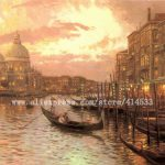 Thomas Kinkade Prints Original Oil Painting Venice Reproduction
