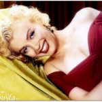 Top Quality Beautiful Marilyn Monroe Oil Painting Mpaoe Canvas Art