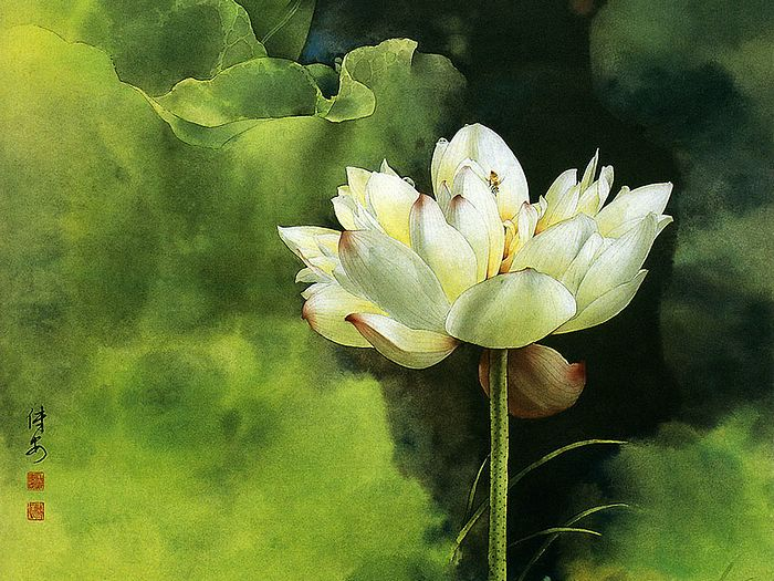 Traditional Chinese Flower Painting Artists Famous