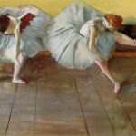 Two Ballet Dancersby Degas Small