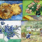 Van Gogh Reproductions Two Cut Sunflowers Iii Reproduction Html