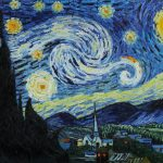 Van Gogh Starry Night Hand Painted Oil Painting Reproduction