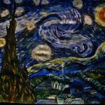 Van Gogh Starry Night Which Have Paint Graceyinpinglung