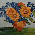 Van Gogh Sunflower Painting