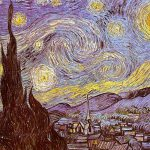 Van Gogh Vincent The Starry Night Saint Remy Painting
