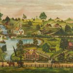 View Village European Painting