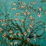 Vincent Van Gogh Branches Almond Tree Blossom Painting