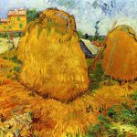 Vincent Van Gogh Haystacks Provence Art For Sale