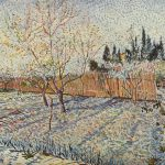 Vincent Van Gogh Paintings Field Winter Painting