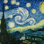 Vincent Van Gogh Starry Night Most Popular Oil Painting
