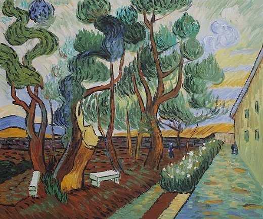 Vincent Van Gogh The Garden Saint Paintings For Sale From