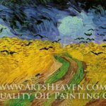 Vincent Van Gogh Wheatfield Crows