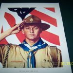 Vintage Norman Rockwell Boy Scouts America Print Collection Set