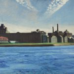 Want Landscape Painting Depicting Roosevelt Island Before Was
