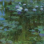 Water Lilies Claude Monet Painting