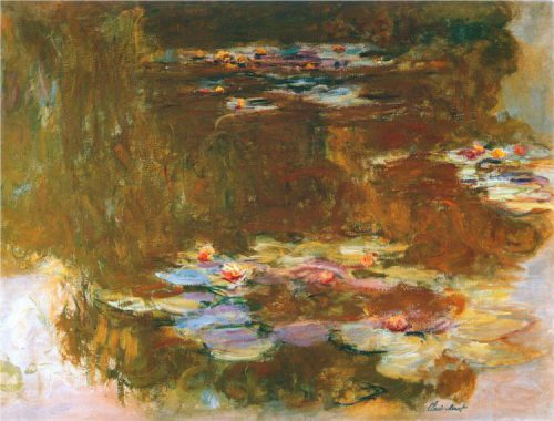 Water Lily Pond Claude Monet