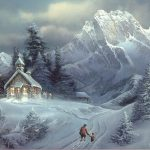 Winter Art Paintings