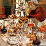 World Famous Paintings Henri Matisse The Dining Table