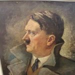 Wwii Hitler Print Famous Painting For German Govt Offices