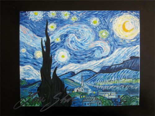 Yoni Shor The Starry Night Vincent Van Gogh