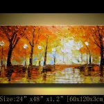 Abstract Acrylic Painting Canvas Art Paintings