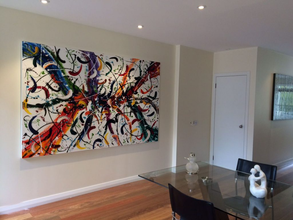 Abstract Art Classes Lessons Paint Ideas Interior