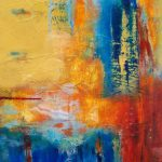 Abstract Artists International Persevere Original Contemporary Painting
