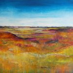 Abstract Landscape Painting Original Modern Canvas