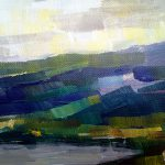 Abstract Landscape Painting Zlatko Music