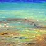 Abstract Ocean Painting Archive Thomas Deir Honolulu