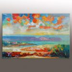 Abstract Painting Large Art Extra Wall