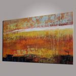 Abstract Painting Large Art Georgemillerart