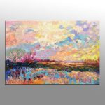 Abstract Painting Oil Large Art