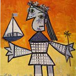 Abstract Painting Pablo Picasso China Oil