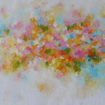 Abstract Painting Pastel Shades Colors