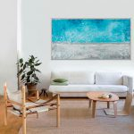 Abstract Painting Qiqigallery Stretched Canvas Original Modern