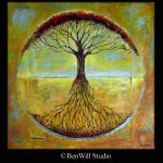 Abstract Tree Huge Painting Original Art