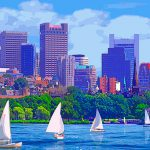 Acrylic Paintings Boston James