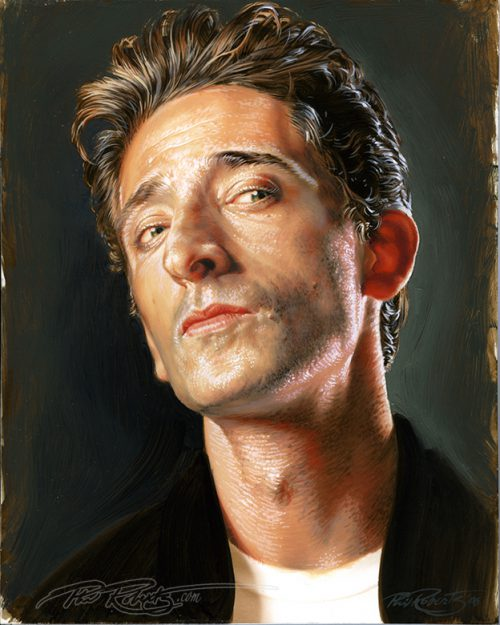 Adrien Brody Hollywood Land Phil Roberts Figure Artist