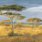 African Landscape Painting Lucie