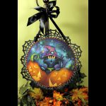 Along Came Spider Tole Decorative Painting Patricia Rawlinson