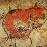 Altamira Cave First Charcoal Artists