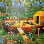 Amanda White Contemporary Naive Art Dominican Republic