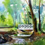 Amazing Examples Landscape Watercolor Paintings Fine Art
