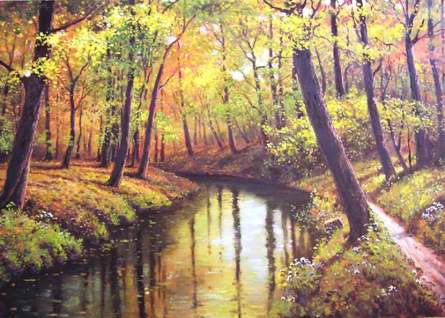 Amazing Watercolor Paintings Glass Pics