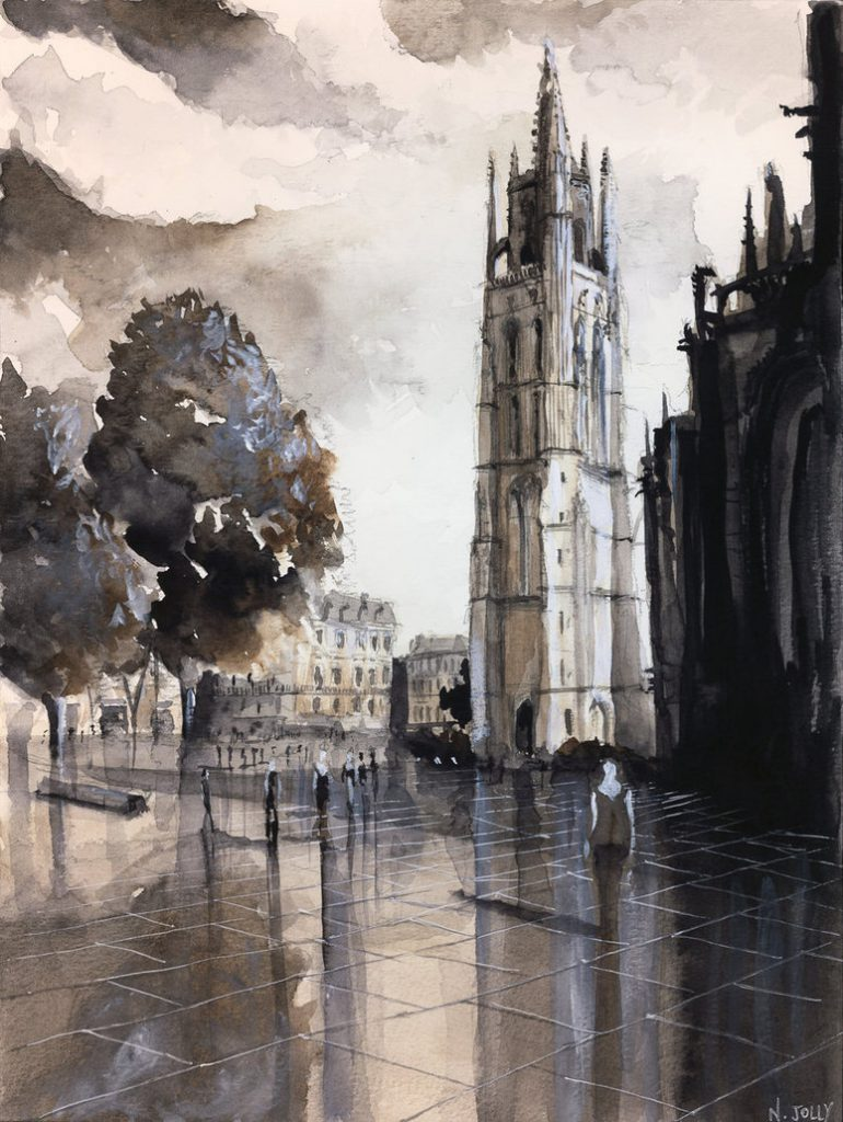 Amazing Watercolor Paintings Nicolas Jolly