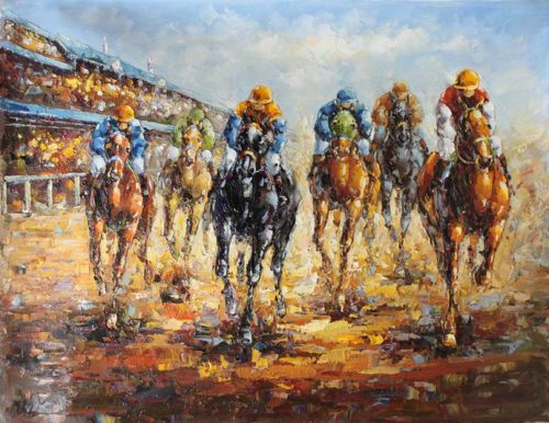 American Horse Racing Paintings Sale Shop